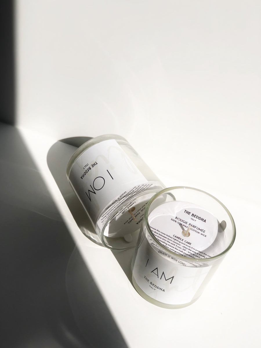 100% Soy Candles Duo -  I AM & I OM