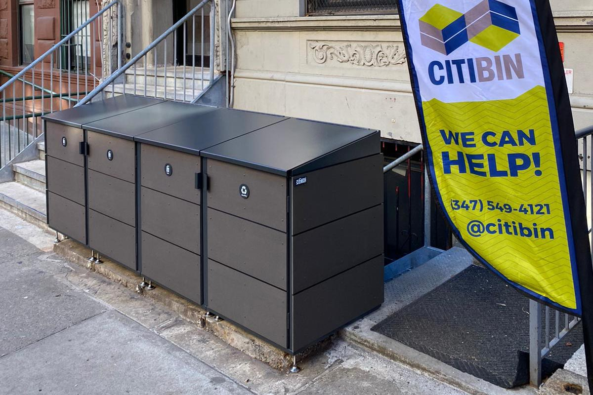 CITIBIN Keeps Rats, Squirrels, and Raccoons Out of Your Trash