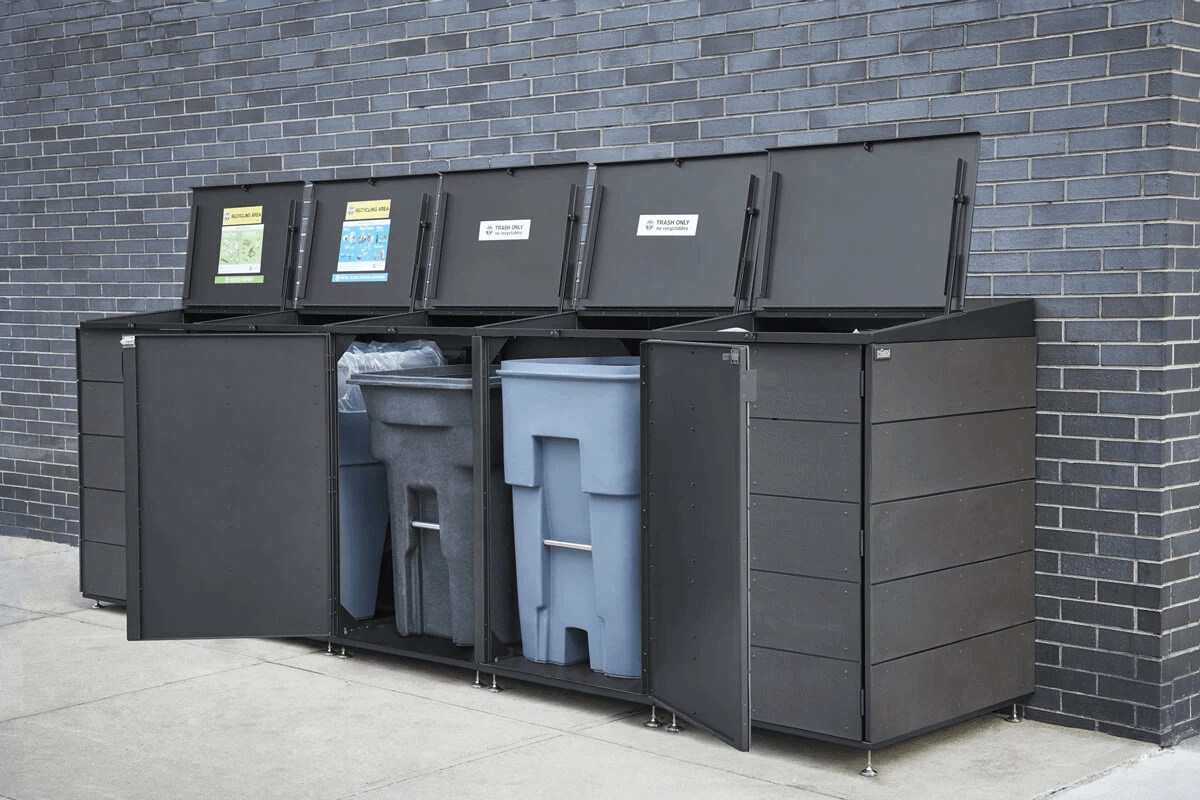 Garbage can storage - trash can storage - recycling storage CITIBIN