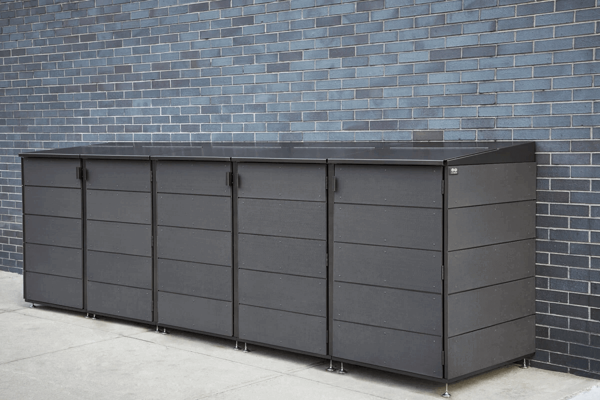 Trash can storage - Outdoor storage CITIBIN