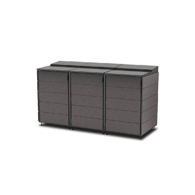 #XL 3-Module#Charcoal#Sectional Lid