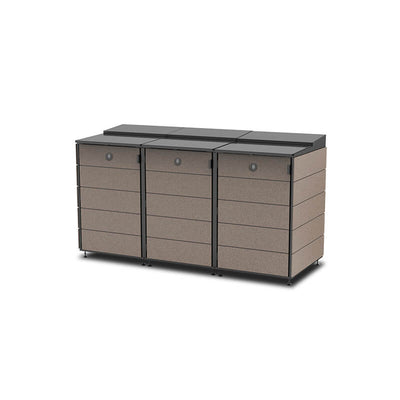 #XL 3-Module#Coffee#Sectional Lid