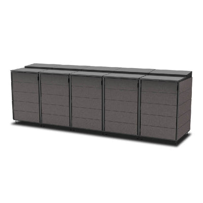 #XL 5-Module#Charcoal#Sectional Lid