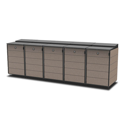 #XL 5-Module#Coffee#Sectional Lid