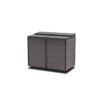 #XL 2-Module#Charcoal#Sectional Lid