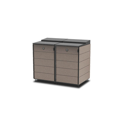 #XL 2-Module#Coffee#Sectional Lid