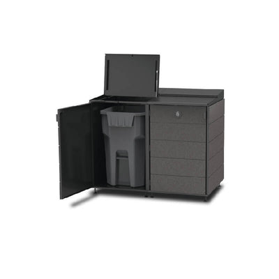 #XL 2-Module#Charcoal#Open Top