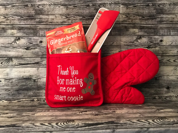 Personalized Pot Holder Gift Set