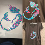 MERMAID TEE SHIRT