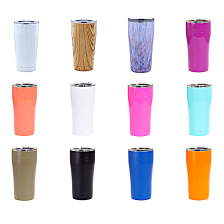 SIC 20oz Tumbler with Locking Lid and FREE personalization