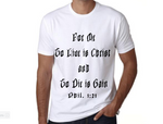 To Live is Christ Men's T-Shirt