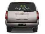 Cape Life Decal