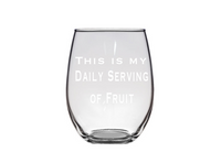 #stickifyvinyl #swfl #plastic #shatterproof #stemlesswineglass #wine #glass #dailyserving #fruitjuice
