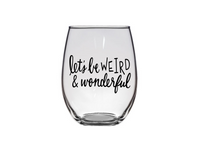 #stickifyvinyl #swfl #plastic #shatterproof #stemlesswineglass #wine #glass #weird #wonderful