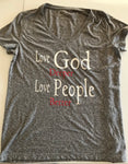 LOVE GOD DEEPER T-SHIRT