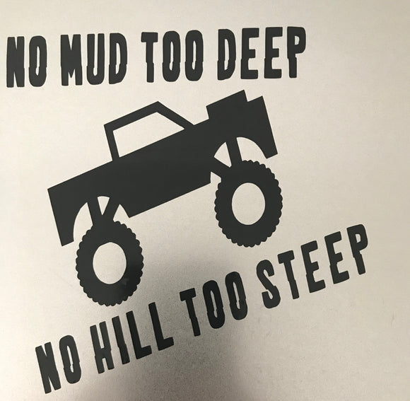 Mud Truck Decal