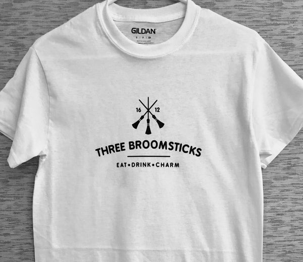 #threebroomsticks #harrypotter #inspired #custom #tee #adult #unisex