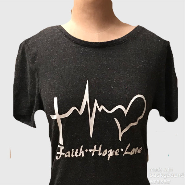 Faith Hope Love - Ladies' Tee