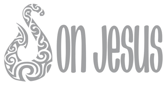 Hooked on Jesus Vinyl Decal