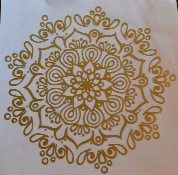 Mandala Flower Decal