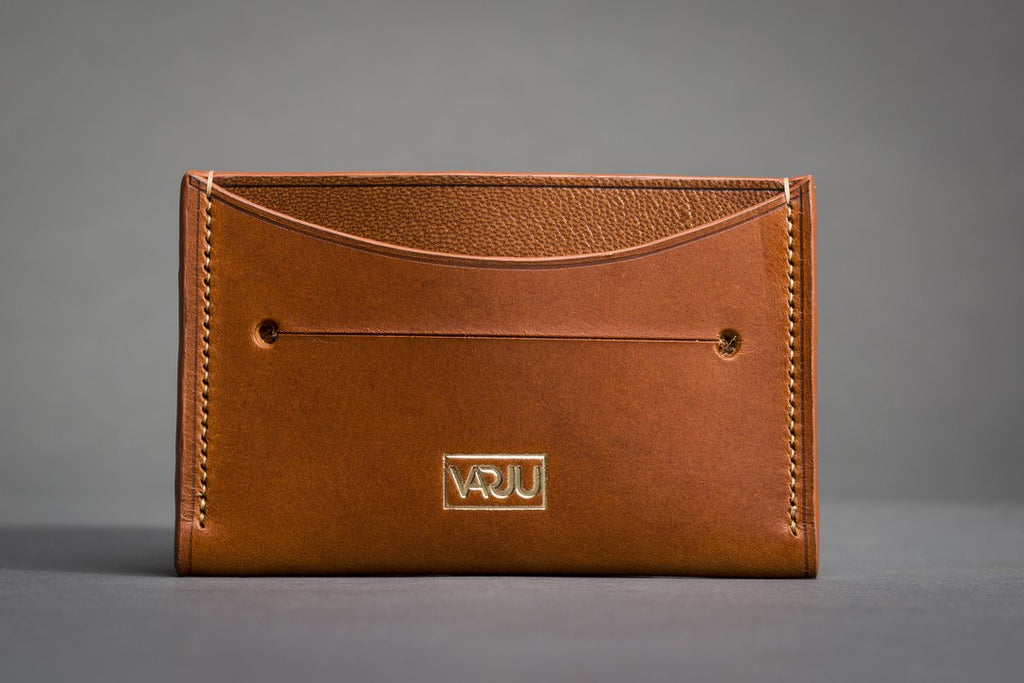 The Philosophy Behind Our New Leather Card Holder