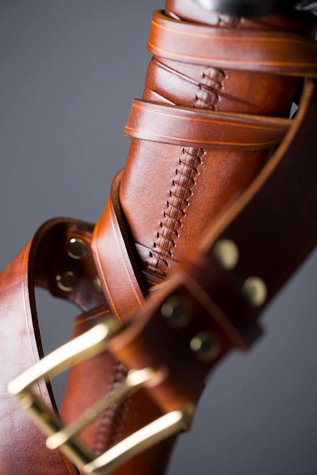 Leather sword scabbards - Our philosophy