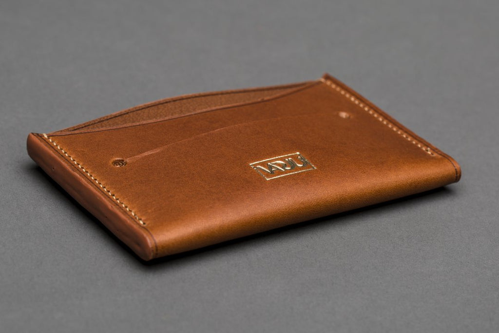 Slim Card Wallet 2020: Tuscan cowhide and French goatskin