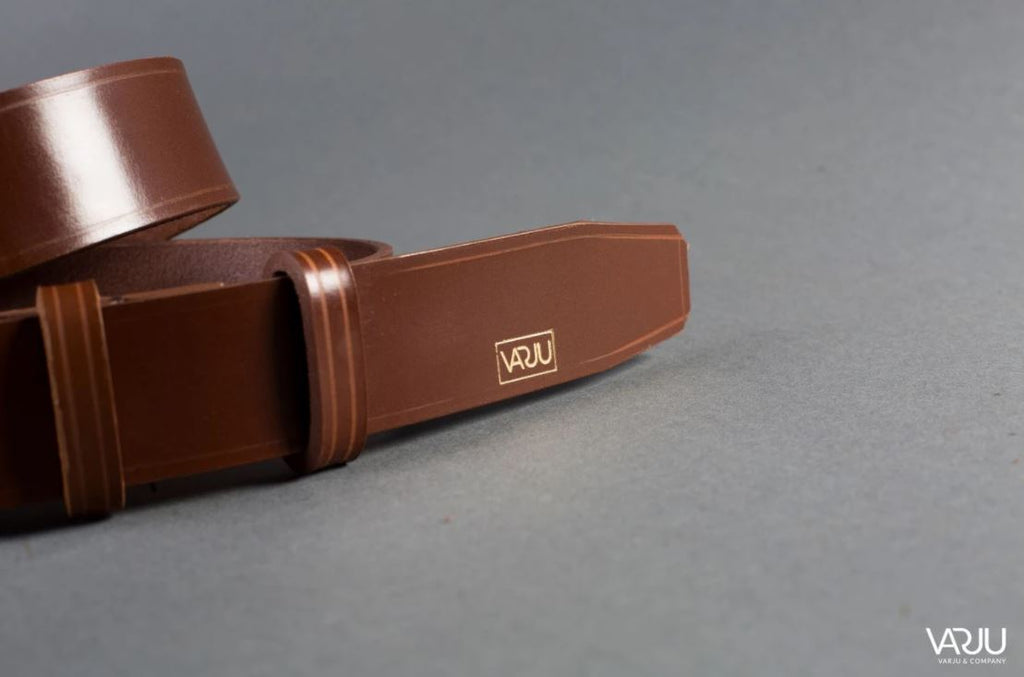 Extremely Dense, yet Sufficiently Flexible Leather Belts