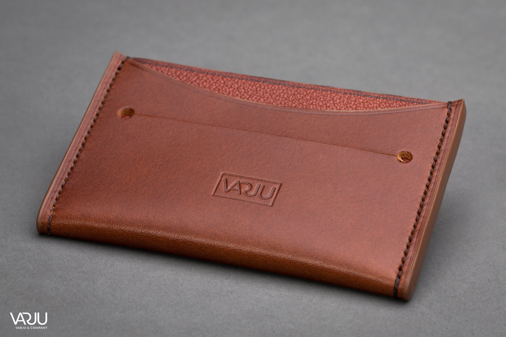 Leather Card Holder: Slim Card Wallet & Case