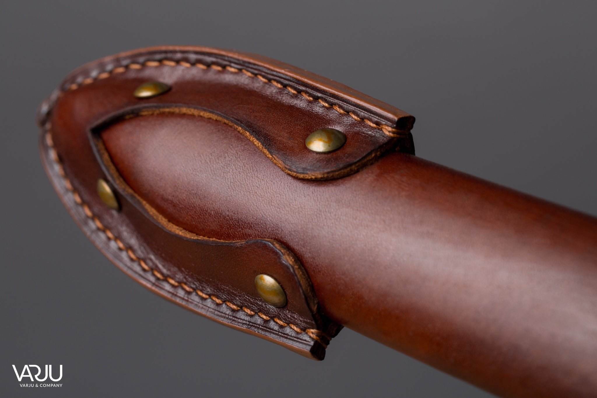 Simple sword scabbard sheath