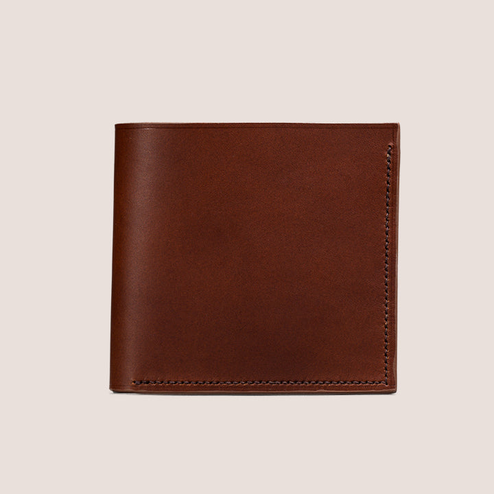 Handmade Men's Bifold Leather Wallet