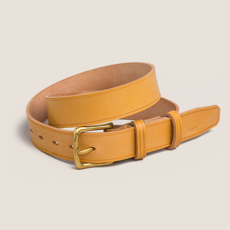 Belt with custom made buckles