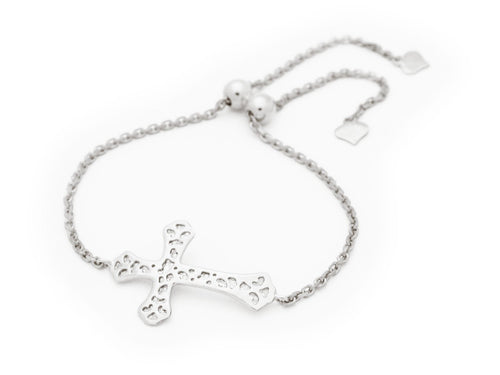 BecKids Adjustable Cross Bracelet - Vera jewelry