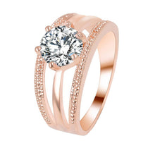 Women Wedding Engagement Ring Crystal Jewelry Rings - Vera jewelry