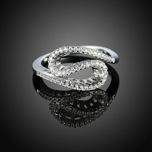 925 Sterling Silver Ring Wholesaler of Silk banded Diamond Ring