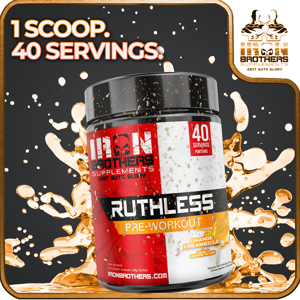 Ruthless Pre-Workout Samples X3