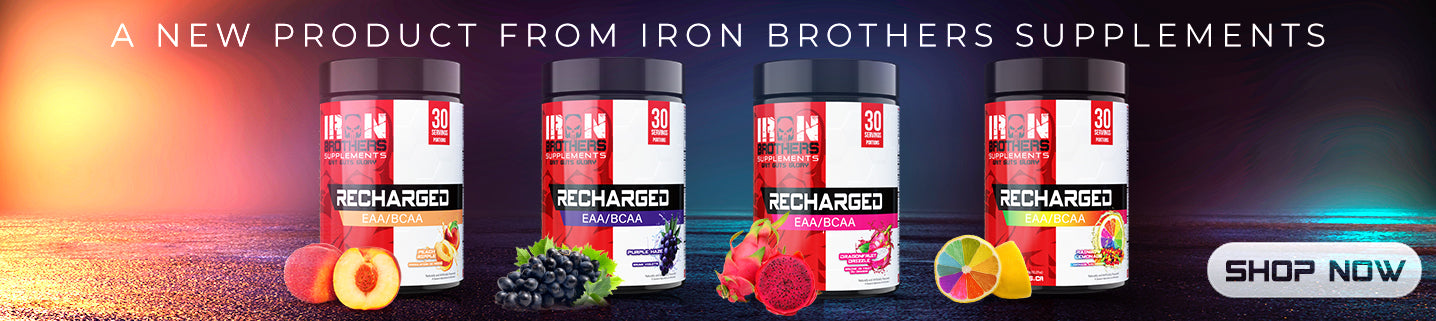 EAA/BCAA Recharged Iron Brothers Supplements