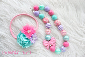 Bubblegum Shop Necklace or Headband