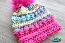 Party Girl Bobble Beanie Hat-Toddler 2/4 RTS