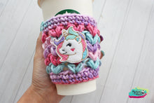 Unicorn Pixie Cup cozy