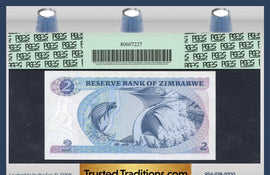 "TT PK 0001a 1980 ZIMBABWE 2 DOLLARS ""WATER BUFFALO"" PCGS 67 PPQ SUPERB GEM NEW!"
