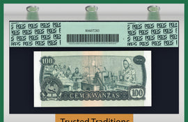 TT PK 0115a 1979 ANGOLA 100 KWANZAS PCGS 66 PPQ GEM NEW POP ONE FINEST KNOWN!