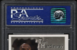 TT 1996 FINEST TIM HARDAWAY 278 PSA MINT 9 THE BUG