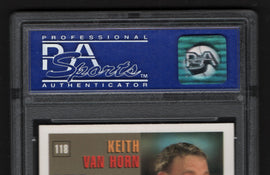 TT 1997 TOPPS CHROME KEITH VAN HORN PSA #118 GEM MT 10 NEW JERSEY NETS TOP 10