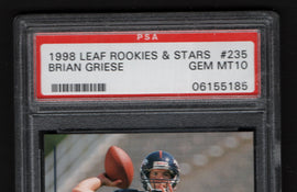 TT 1998 LEAF ROOKIES &STARS BRIAN GRIESE #235 GEM MT10 ITS NOT EASY BEING GRIESE