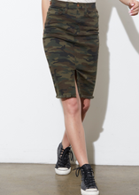 Emmie Camo Mini Skirt