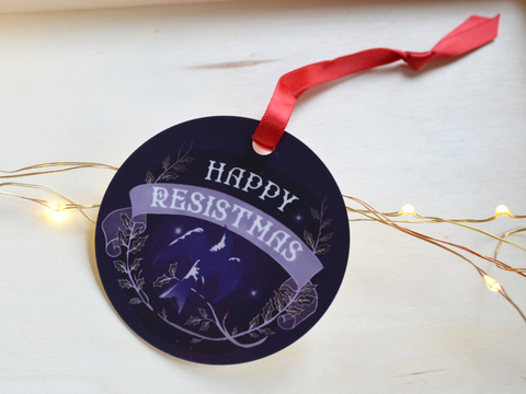 Happy Resistmas: Christmas Ornament