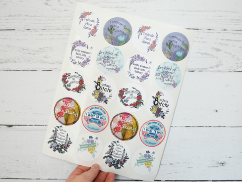 Women's History: Feminist Sticker Set
