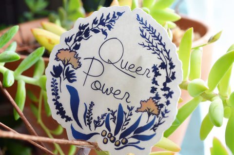 Queer Power: LGBTQ Sticker