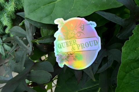 Queer And Proud: LGBTQ Sticker